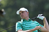 Jordan Spieth (USA) tees off the 15th tee during Thursday's Round 1 of the 2017 PGA Championship held at Quail Hollow Golf Club, Charlotte, North Carolina, USA. 10th August 2017.<br /> Picture: Eoin Clarke | Golffile<br /> <br /> <br /> All photos usage must carry mandatory copyright credit (&copy; Golffile | Eoin Clarke)