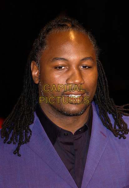 LENNOX LEWIS.UK Music Hall of Fame.Hackney Empire.London 11 November 2004..portrait headshot.Ref: PL.www.capitalpictures.com.sales@capitalpictures.com.©Capital Pictures.