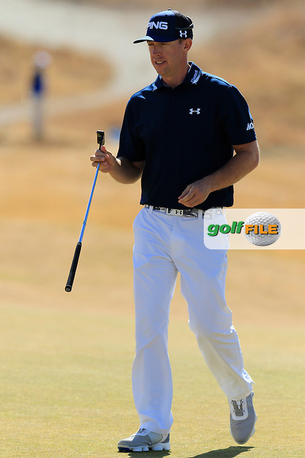 Hunter MAHAN (USA) on the 5th green during Friday's Round 2 of the 2015 U.S. Open 115th National Championship held at Chambers Bay, Seattle, Washington, USA. 6/19/2015.<br /> Picture: Golffile | Eoin Clarke<br /> <br /> <br /> <br /> <br /> All photo usage must carry mandatory copyright credit (&copy; Golffile | Eoin Clarke)