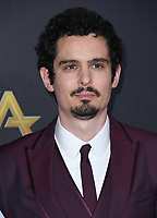 04 November 2018 - Beverly Hills, California - Damien Chazelle. 22nd Annual Hollywood Film Awards held at Beverly Hilton Hotel. <br /> CAP/ADM/BT<br /> &copy;BT/ADM/Capital Pictures