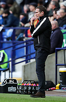 Bolton Wanderers' manager Phil Parkinson looks on <br /> <br /> Photographer Andrew Kearns/CameraSport<br /> <br /> The EFL Sky Bet Championship - Bolton Wanderers v Preston North End - Saturday 9th February 2019 - University of Bolton Stadium - Bolton<br /> <br /> World Copyright © 2019 CameraSport. All rights reserved. 43 Linden Ave. Countesthorpe. Leicester. England. LE8 5PG - Tel: +44 (0) 116 277 4147 - admin@camerasport.com - www.camerasport.com
