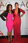 Tina Douglas & Ashanti at TAO Downtown Grand Opening NYC on September 28, 2013 in New York City, New York.  (Photo by Sue Coflin/Max Photos)