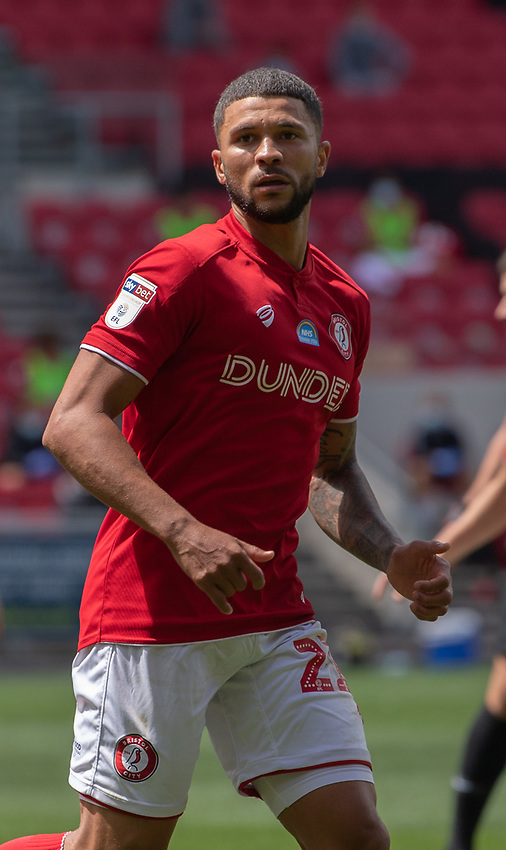 Bristol City's Nakhi Wells<br /> <br /> Photographer David Horton/CameraSport<br /> <br /> The EFL Sky Bet Championship - Bristol City v Sheffield Wednesday - Sunday 28th June 2020 - Ashton Gate Stadium - Bristol <br /> <br /> World Copyright © 2020 CameraSport. All rights reserved. 43 Linden Ave. Countesthorpe. Leicester. England. LE8 5PG - Tel: +44 (0) 116 277 4147 - admin@camerasport.com - www.camerasport.com