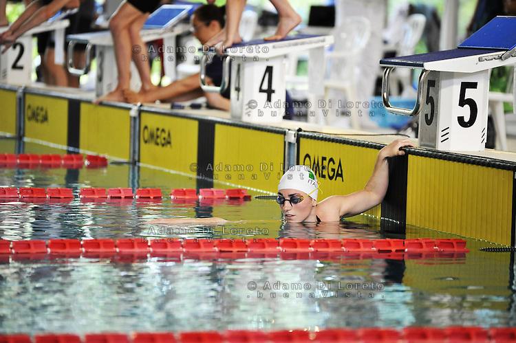 """Arjola Trimi Record del mondo 100mt stile 1'26""""90  e200mt durante i campionati italiani nuoto paralimpici a lignano sabbiadoro, on may 28, 2016. Photo: DiLoreto/Fortunato-BuenaVista*photo"""