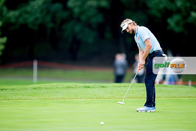 Joost Luiten (NED) on the 1st during the 1st round f the WGC-HSBC Champions, Sheshan International GC, Shanghai, China PR.  27/10/2016<br /> Picture: Golffile | Fran Caffrey<br /> <br /> <br /> All photo usage must carry mandatory copyright credit (&copy; Golffile | Fran Caffrey)