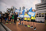 Participants in action during the Bloomberg Square Mile Relay on 5 November 2015 in Hong Kong, China. Photo by Man Yuen Li / Power Sport Images