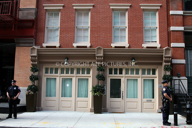 WWW.ACEPIXS.COM . . . . .  ....June 6 2011, New York City....The Tribeca townhouse where Dominique Strauss-Kahn is staying on June 6, 2011 in New York City.....Please byline: CURTIS MEANS - ACE PICTURES.... *** ***..Ace Pictures, Inc:  ..Philip Vaughan (212) 243-8787 or (646) 679 0430..e-mail: info@acepixs.com..web: http://www.acepixs.com