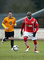 Frank Sinclair of Wrexham during the Blue Square Bet Premier match between Cambridge United and Wrexham at the Abbey Stadium, Cambridge on 22nd January, 2011 .© Kevin Coleman 2011