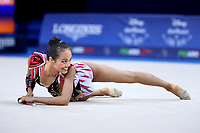 August 31, 2017 - Pesaro, Italy - LAURA ZENG of USA at 2017 World Championships Pesaro, Italy.