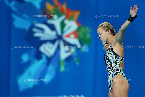 Tonia Couch (GBR), JULY 29, 2015 - Diving : 16th FINA World Championships Kazan 2015 Women's 10m Platform Preliminary at Aquatics Palace in Kazan, Russia. (Photo by Yohei Osada/AFLO SPORT)