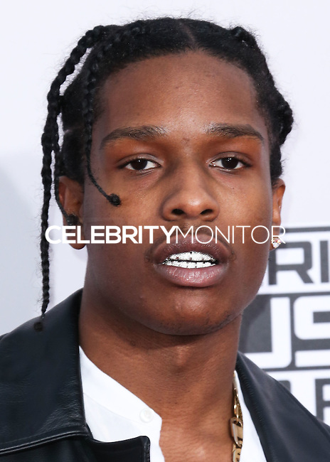 LOS ANGELES, CA, USA - NOVEMBER 23: A$AP Rocky arrives at the 2014 American Music Awards held at Nokia Theatre L.A. Live on November 23, 2014 in Los Angeles, California, United States. (Photo by Xavier Collin/Celebrity Monitor)
