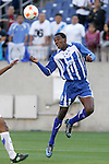 20 March 2008: Jefferson Bernardez (HON) (9). The Honduras U-23 Men's National Team defeated the Guatemala U-23 Men's National Team 6-5 on penalty kicks after a 0-0 overtime tie at LP Field in Nashville,TN in a semifinal game during the 2008 CONCACAF Men's Olympic Qualifying Tournament. With the penalty kick victory, Honduras qualifies for the 2008 Beijing Olympics.