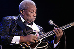 BB King performs at the Silver Legacy in Reno, Nev., on Saturday night, Feb. 26, 2005. .Photo by Cathleen Allison/Copyright Nevada Appeal