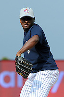 Staten Island Yankees pitcher Wilton Rodriguez (54) during first team workout at Richmond County Bank Ballpark at St. George in Staten Island, NY June 15, 2010.  Photo By Tomasso DeRosa/ Four Seam Images