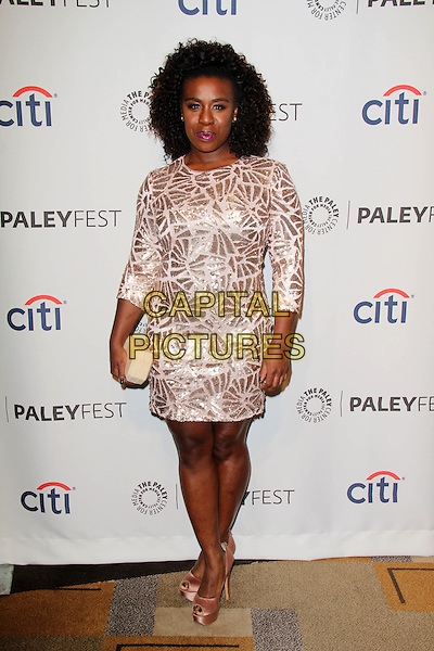 HOLLYWOOD, CA - March 14: Uzo Aduba at the 31st PALEYFEST Presents: &quot;Orange Is The New Black,&quot; Dolby Theater, Hollywood,  March 14, 2014.  <br /> CAP/MPI/JO<br /> &copy;Janice Ogata/MediaPunch/Capital Pictures