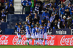 Club Deportivo Leganes's Unai Bustinza Pablo Insua during the match of La Liga between Club Deportivo Leganes  and Club Atletico Osasuna at Butarque Stadium  in Madrid , Spain. November 21, 2016. (ALTERPHOTOS/Rodrigo Jimenez)