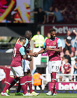 REECE OXFORD (right) Rumoured Transfer Target for the top clubs at the Boleyn Ground, London, England. Photo by Andy Rowland / PRiME Media Images.