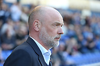 Fleetwood Town manager Uwe Rosler takes his place in the dugout before kick-off<br /> <br /> Photographer Stephen White/CameraSport<br /> <br /> The EFL Sky Bet League One - Oldham Athletic v Fleetwood Town - Saturday 8th April 2017 - SportsDirect.com Park - Oldham<br /> <br /> World Copyright &copy; 2017 CameraSport. All rights reserved. 43 Linden Ave. Countesthorpe. Leicester. England. LE8 5PG - Tel: +44 (0) 116 277 4147 - admin@camerasport.com - www.camerasport.com