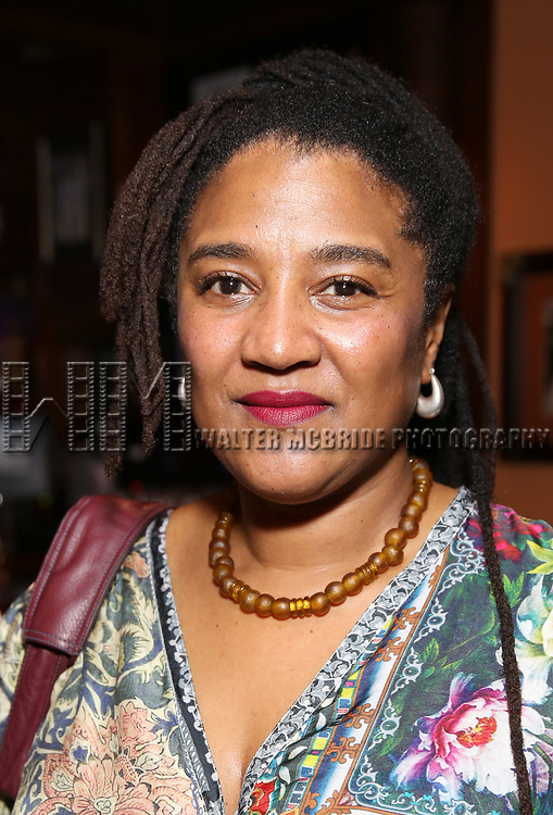 Lynn Nottage attends the 2017 New York Drama Critics' Circle Awards Reception at Feinstein's / 54 Below on 5/18/2017 in New York City.