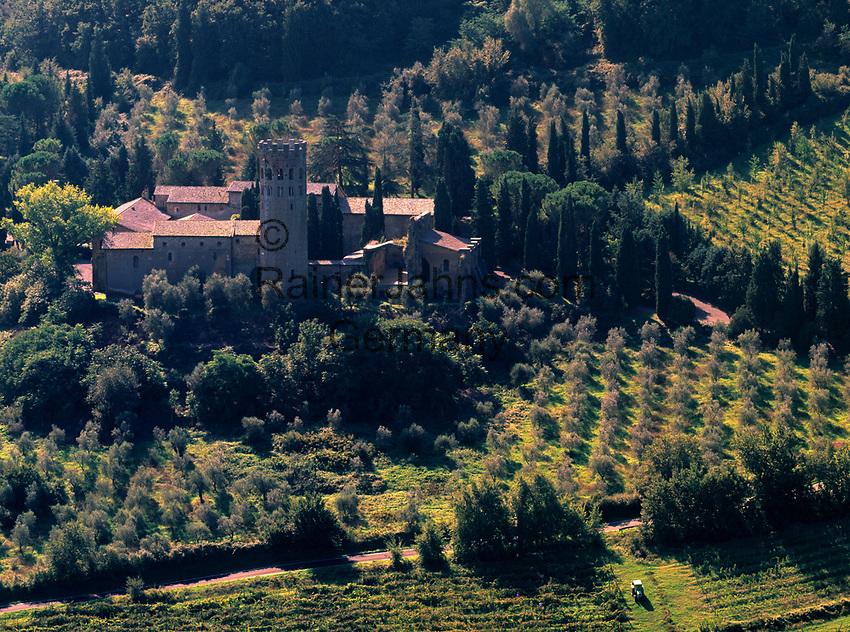Italien, Umbrien, bei Orvieto: La Badia, ehemals gotische Abtei (12. Jh.) heute Hotel | Italy, Umbria, near Orvieto: La Badia, former Gothic Abbey - today a hotel