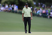 Jose Maria Olazabal (ESP) on the 16th green during the 2nd round at the The Masters , Augusta National, Augusta, Georgia, USA. 12/04/2019.<br /> Picture Fran Caffrey / Golffile.ie<br /> <br /> All photo usage must carry mandatory copyright credit (© Golffile | Fran Caffrey)