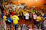 Great numbers again this year in Cahersiveen for the Darkness into Light walk on Saturday morning from Colaiste na Sceilge.