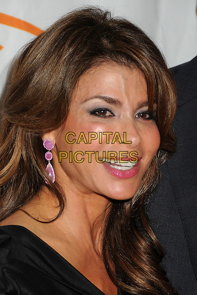 Paula Abdul.12th Annual Lupus LA Orange Ball held at the Beverly Wilshire Hotel, Beverly Hills, California, USA..May 24th, 2012.headshot portrait black.CAP/ADM/BP.©Byron Purvis/AdMedia/Capital Pictures.