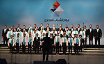 Egyptian President Abdel Fattah el-Sisi, takes part in the ceremony to mark the the Egyptian Youth Day, in Cairo on January 09, 2016. Photo by Egyptian President Office