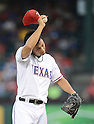Yu Darvish (Rangers),<br /> AUGUST 30, 2013 - MLB :<br /> Pitcher Yu Darvish of the Texas Rangers during the Major League Baseball game against the Minnesota Twins at Rangers Ballpark in Arlington in Arlington, Texas, United States. (Photo by AFLO)