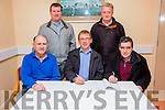 Pictured at the signing of the contracts for the new extension at Valentia Community Hospital were front l-r; Seamus Lynch(James Lynch Construction LTD),P.J.O'Sullivan(Hospital Committee Chairman),Paudie Lynch(James Lynch Construction LTD), back l-r; Con O'Shea(Hospital Committee) & Jackie O'Sullivan(Hospital Committee), missing from photo Denis Moran(Project Engineer).