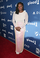 13 April 2018 - Beverly Hills, California - Dawn Butler. 29th Annual GLAAD Media Awards at The Beverly Hilton Hotel. Photo Credit: F. Sadou/AdMedia