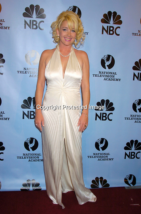 Melody Thomas Scott ..at the Daytime Emmy Awards on May 21, 2004 in the Press Room at Radio City Music Hall...Photo by Robin Platzer, Twin Images