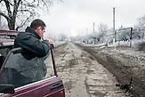 Myronivsky nahe Debaltsewo nach dem Abkommen von Minsk zu Beginn des Waffenstillstandes, 15.02.2015/   Myronivsky near Debaltseve after the  Minsk deal at the Begining of ceasefire_15.02.2014