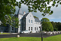 County Mayo, Ireland, June 2010. The Luxury 4 star Mount Falcon Country House Hotel in Mayo is located on the west bank of the River Moy, 100 acres of magical woodlands, between Foxford and Ballina, in North County Mayo, a most beautiful part of the West of Ireland. Mount Falcon's new owners, amongst them the Maloney Family, who hail from the area, visited the Estate and fell in love with it. As the new owners, they have invested heavily in a refurbishment and development programme, and have at every stage ensured that the integrity and charm of the Estate has been completely retained. For centuries, Ireland has offered the greatest sport fishing to anglers. Several traditional houses offer accomodation and fishing in style, under the name 'The Great Fishing Houses of Ireland'.  Each of the houses has access to superb fishing. Some offer private, exclusive waters, while others are located on the great free lakes of Ireland. Photo by Frits Meyst/Adventure4ever.com