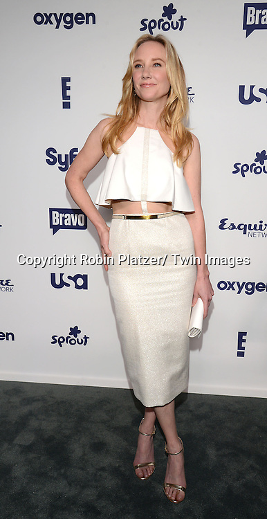 Anne Heche  of &quot;Dig&quot; attends the NBCUniversal Cable Entertainment Upfront <br /> on May 15, 2014 at The Javits Center North Hall in New York City, New York, USA.