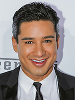 BEVERLY HILLS, CA, USA - OCTOBER 11: Mario Lopez arrives at Ferrari's 60th Anniversary In The USA Gala held at the Wallis Annenberg Center for the Performing Arts on October 11, 2014 in Beverly Hills, California, United States. (Photo by Rudy Torres/Celebrity Monitor)