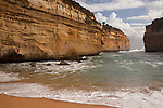 Loch Ard Gorge, Port Campbell National Park, along the Great Ocean Road, Victoria, Australia