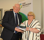 Frank Hayes, Kerry Group, at the opening of the Irish Wheelchair Association new Community Centre at The Reeks Gateway, Killarney on Friday. Picture: macmonagle.com