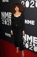 Izzy Bizu at the NME Awards 2020 held at the O2 Brixton Academy, London on February 12th 2020<br /> CAP/ROS<br /> ©ROS/Capital Pictures