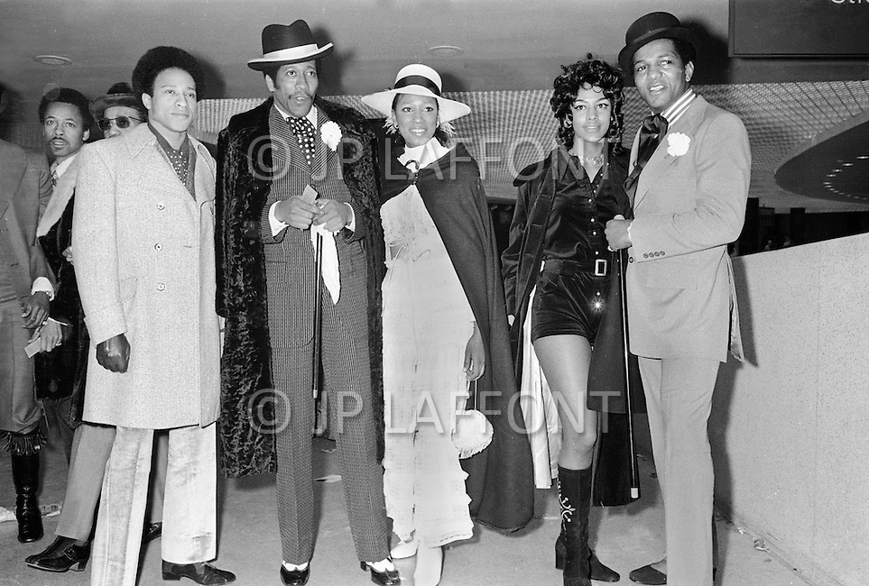 Manhattan, New York City, NY - March 8, 1971  <br />