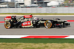 ROMAIN GROSJEAN (8) driver of the Lotus F1 Team Renault in action during the Formula 1 United States Grand Prix practice session at the Circuit of the Americas race track in Austin,Texas.