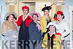 Judy Rezin, Niamh O'Carroll, Annelie Fleming, Harriet McGuigh, Betty Rohan and Cait O'Sullivan at the Killarney Musical Society musical Me and My Girl in the INEC on Wednesday night
