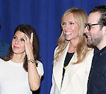 Marissa Tomei, Toni Collette and Director Sam Gold attending 'The Realistic Joneses'  Meet & Greet  at The New 42nd Street Studios on February 20, 2014 in New York City.
