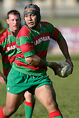 Waiuku centre S. Kata. Counties Manukau Premier Club Rugby, Pukekohe v Waiuku  played at the Colin Lawrie field, on the 3rd of 2006.Pukekohe won 36 - 14