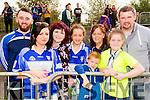St Brendans fans pictured at the County Senior Hurling final held in Abbeydorney on Sunday last were l-r: Garrett O'Connell, Laura Lenihan, Maeve Enright, Mary Lyne, Liam Óg Kearney, Helen Kearney Aoibhe Kearney and Thomas Kearney