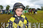 Killorglin jockey Keith Moriarty who had a winner at the Castleisland Races on Saturday..