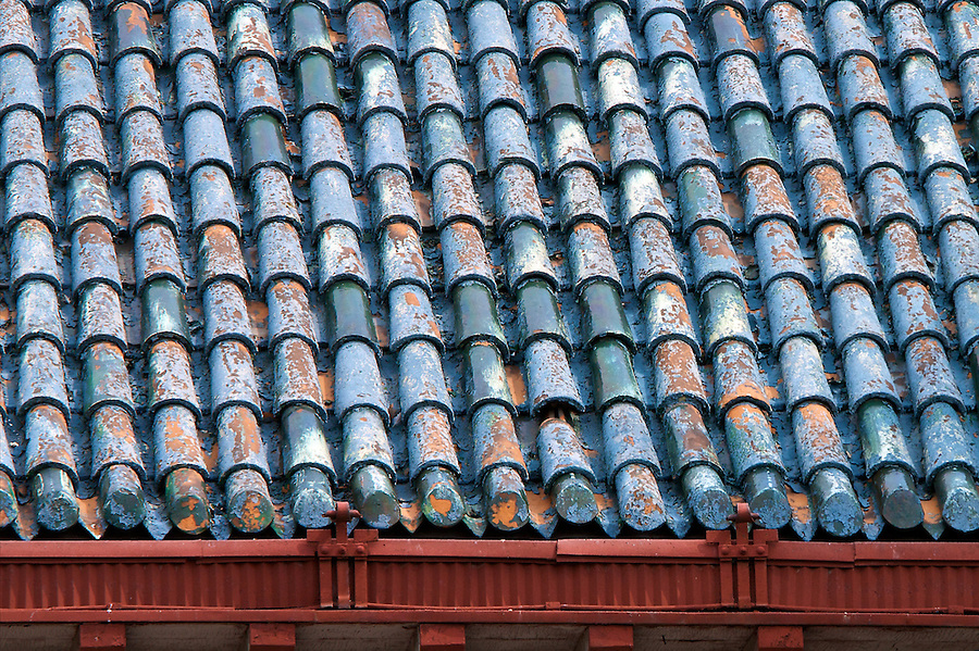 Roof Detail On The German Governor-General's Residence, Qingdao (Tsingtao).