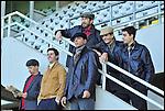 Sul set di 'Farfalla Granata', fiction sulla vita di Gigi Meroni, calciatore del Torino degli anni sessanta. Novembre 2012