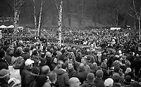 big crowds to cheer for home favorite Sven Nys (BEL)<br /> <br /> GP Sven Nys 2014