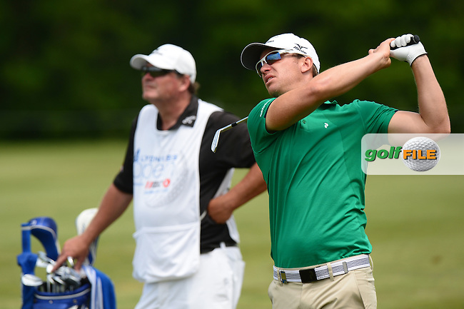 Magnus A Carlsson of Sweden during Round 3 of the Lyoness Open, Diamond Country Club, Atzenbrugg, Austria. 11/06/2016<br /> Picture: Richard Martin-Roberts / Golffile<br /> <br /> All photos usage must carry mandatory copyright credit (&copy; Golffile | Richard Martin- Roberts)